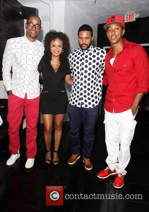 Jay Ellis, Joyful Drake, Hosea Chanchez and Wesley Jonathan
