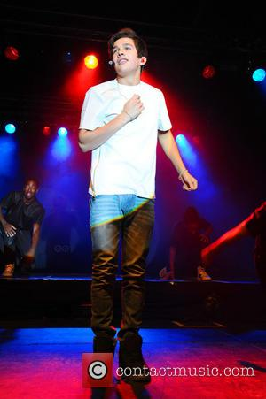 Austin Mahone - US singer Austin Mahone performing live at C-Club in Tempelhof. - Berlin, Germany - Friday 27th June...