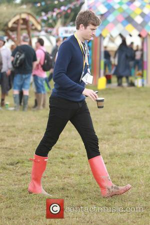 Greg James - Glastonbury Festival 2014 - Celebrity sightings and atmosphere - Day 2 - Glastonbury, United Kingdom - Friday...