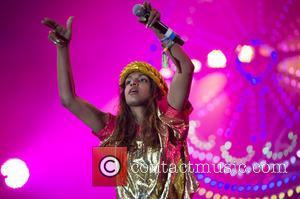 MIA - Glastonbury Festival 2014 - Performances - Day 2 - London, United Kingdom - Friday 27th June 2014