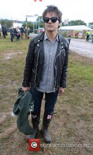 Jamie Cullum - Glastonbury Festival 2014 - Celebrity sightings and atmosphere - Day 2 - Glastonbury, United Kingdom - Friday...
