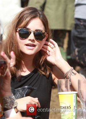 Jenna Louise Coleman - Glastonbury Festival 2014 - Celebrities - Glastonbury, United Kingdom - Friday 27th June 2014