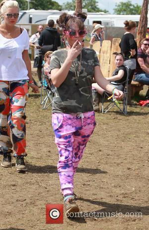 Jamie Winstone - Glastonbury Festival 2014 - Celebrities and atmosphere. - Glastonbury, United Kingdom - Friday 27th June 2014