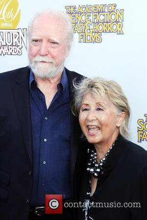 Scott Wilson and Heavenly Wilson - 40th Annual Saturn Awards - Arrivals - Burbank, California, United States - Friday 27th...