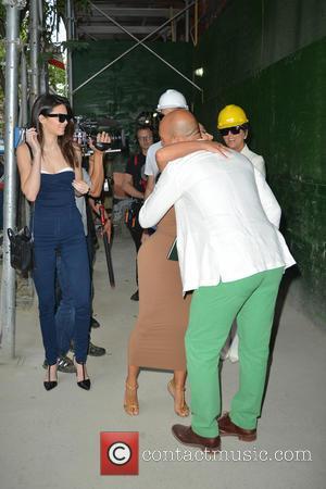 Kendall Jenner, Kim Kardashian and Kris Jenner