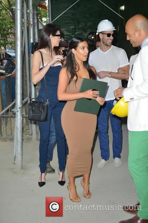 Kendall Jenner and Kim Kardashian