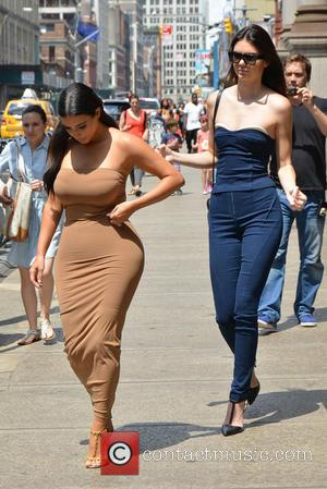Kendall Jenner and Kim Kardashian - The Kardashians go apartment hunting in New York while filming an episode of their...