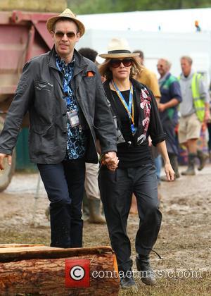 Cerys Matthews - Glastonbury Festival 2014 - Celebrity sightings and atmosphere - Day 3 - Glastonbury, United Kingdom - Saturday...