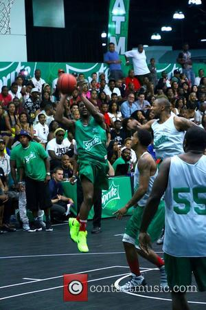 Floyd Mayweather - Sprite BET Awards Experience Celebrity Basketball Game at L.A. Live - Los Angeles, California, United States -...
