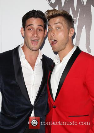 Lance Bass and Michael Turchin - Hilton hosts the wedding celebration of Paul Katami and Jeff Zarrillo - Los Angeles,...