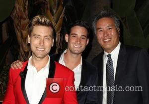 Lance Bass, Michael Turchin and Mark Takano