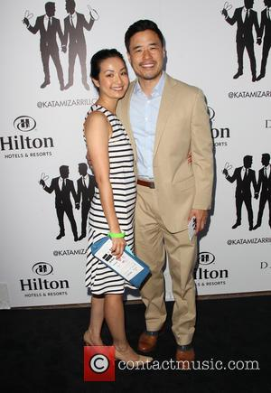 Randall Park and Guest - Hilton hosts the wedding celebration of Paul Katami and Jeff Zarrillo - Los Angeles, California,...