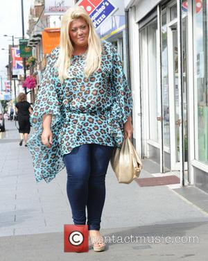 Gemma Collins - Charlie's Delicatessen  Grand Opening in Brentwood Essex - London, United Kingdom - Saturday 28th June 2014