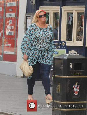 Gemma Collins - Charlie's Deli grand opening in Brentwood - London, United Kingdom - Saturday 28th June 2014