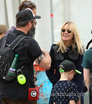 Edith Bowman - Glastonbury Festival 2014 - Celebrity sightings and atmosphere - Day 3 - Glastonbury, United Kingdom - Saturday...