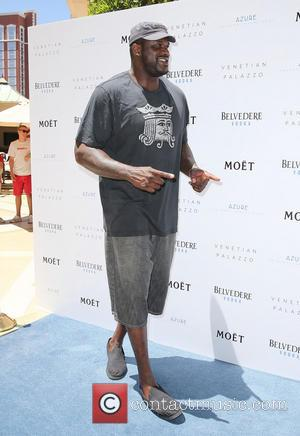Shaquille O'Neal - Shaquille O'Neal hosts the Azure Luxury Pool Party held at The Palazzo Resort Hotel & Casino -...