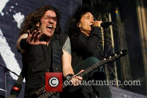 Joey Belladonna, Frank Bello and Anthrax