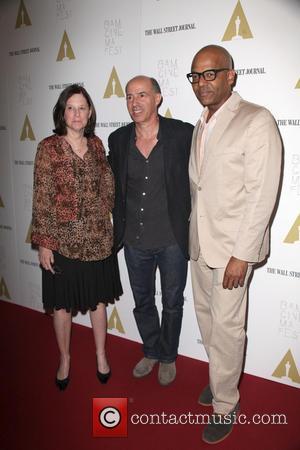 Karen Brooks Hopkins, Jon Kilik and Patrick Harrison
