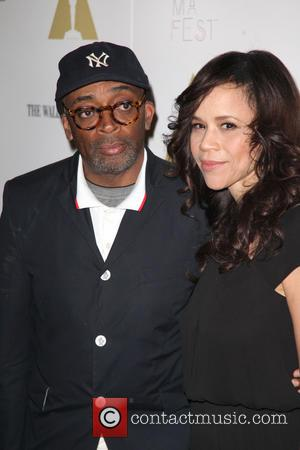 Spike Lee and Rosie Perez - 25th anniversary screening of 'Do The Right Thing' at the closing night of the...