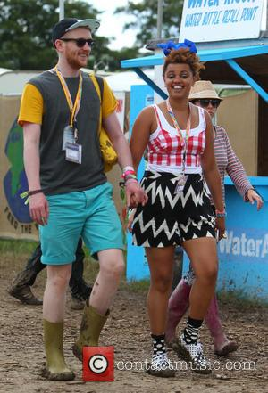 Gemma Cairney - Glastonbury Festival 2014 - Celebrity sightings and atmosphere - Day 4 - Glastonbury, United Kingdom - Sunday...