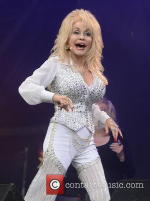 Dolly Parton - Glastonbury Festival 2014 - Performances - Glastonbury, United Kingdom - Sunday 29th June 2014