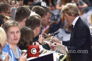 Michael Bay - European premiere Transformers: Age of Extinction at...