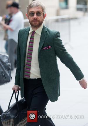 Martin Freeman - Arrivals at the BBC studios