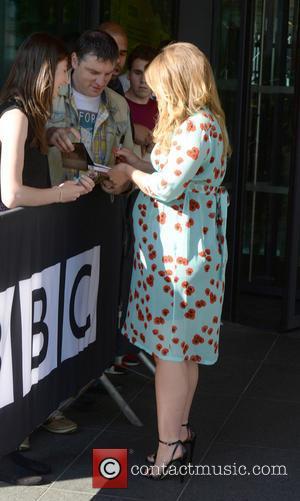 Kimberley Walsh - Kimberley Walsh arrives at BBC Breakfast Studio's, Media City, Manchester - Manchester, United Kingdom - Monday 30th...