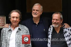 Eric Idle, John Cleese and Terry Gilliam