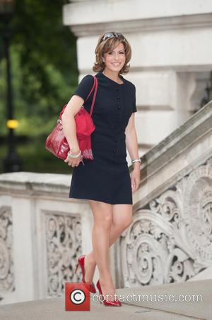 Natasha Kaplinsky - Best of Britain's Creative Industries - reception held at the Foreign Office, Arrivals. - London, United Kingdom...