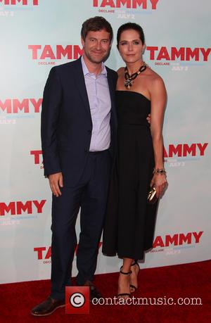 Mark Duplass and Katie Aselton - Los Angeles premiere of \Tammy\ held at the TCL Chinese Theatre - Arrivals -...