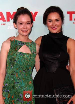 Shanley Caswell and Hayley Mcfarland