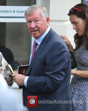 Alex Ferguson - Alex Ferguson outside Wimbledon today - London, United Kingdom - Monday 30th June 2014