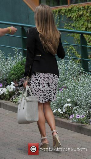 Kim Sears - Kim Sears arriving at Wimbledon - London, United Kingdom - Monday 30th June 2014