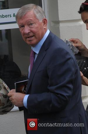 Sir Alex Ferguson - Celebrities arriving at Wimbledon - London, United Kingdom - Monday 30th June 2014