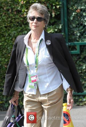 Virginia Wade - Celebrities arriving at Wimbledon - London, United Kingdom - Monday 30th June 2014