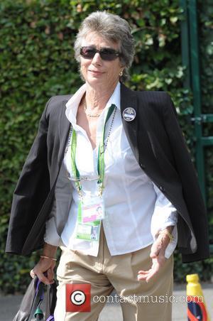 Virginia Wade - Celebrities arriving at Wimbledon - London, United Kingdom - Monday 30th June 2014