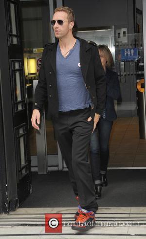 Chris Martin - Celebrities at the BBC Radio 2 studios - London, United Kingdom - Tuesday 1st July 2014