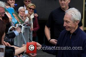 Charlie Watts - The Rolling Stones outside the Grand Hotel Stockholm - Stockholm, Sweden - Tuesday 1st July 2014