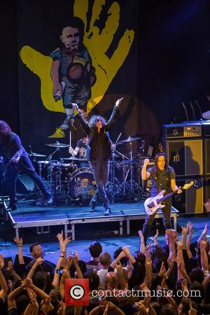 Extreme, Nuno Bettencourt, Gary Cherone and Kevin Figueiredo