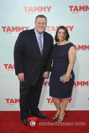 Billy Gardell and Patty Gardell