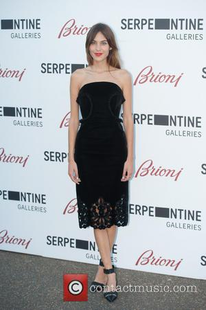 Alexa Chung - Serpentine Gallery Summer Party held at Kensington Park - Arrivals. - London, United Kingdom - Tuesday 1st...
