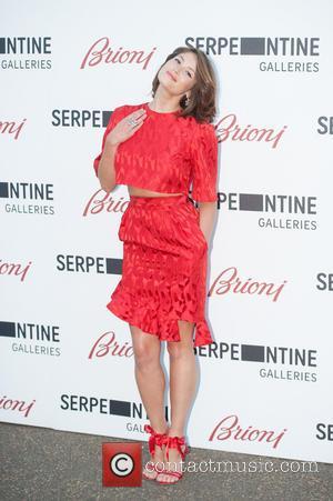 Gemma Arterton - Serpentine Gallery Summer Party held at Kensington Park - Arrivals. - London, United Kingdom - Tuesday 1st...