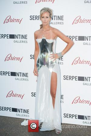 Lady Victoria Hervey - Serpentine Gallery Summer Party held at Kensington Park - Arrivals. - London, United Kingdom - Tuesday...