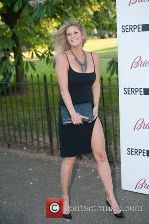Rachel Hunter - Serpentine Gallery Summer Party held at Kensington Park - Arrivals. - London, United Kingdom - Tuesday 1st...