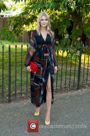 Donna Air - Serpentine Gallery Summer Party held at Kensington Gardens - Arrivals. - London, United Kingdom - Tuesday 1st...