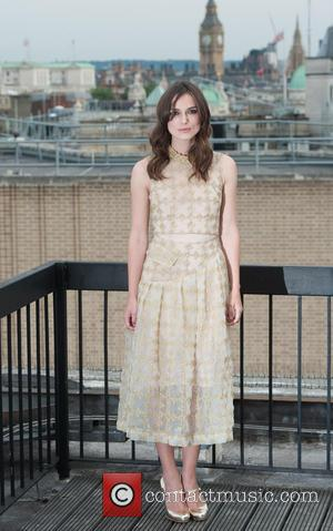 Keira Knightley - 'Begin Again' photocall held at St Vincent House. - London, United Kingdom - Wednesday 2nd July 2014