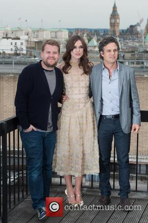 Keira Knightley, James Corden and Mark Ruffalo