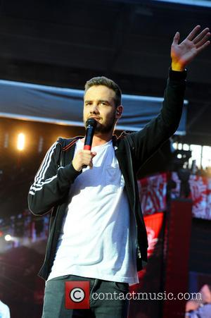 One Direction and Liam James Payne - One Direction performing live in concert during their 'Where We Are' tour at...