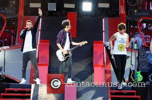 One Direction, Louis William Tomlinson and Niall James Horan - One Direction performing live in concert during their 'Where We...
